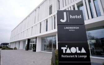 J Hotel closed to the public in order to host the Juventus team and staff in quarantine after the news of the Juventus defender Daniele Rugani's positivity to the coronavirus, Turin, Italy, 12 March. 2020. ANSA/ ALESSANDRO DI MARCO