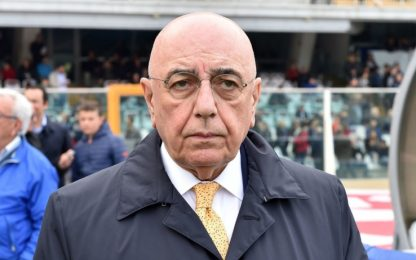 "Galliani: ""Allineare i campionati all'anno solare"""