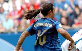 STEFANO RACCAMARI/LAPRESSE22-06-2006 AMBURGOSPORT CALCIO ITALIA REP.CECA WORLD CUP 2006NELLA FOTO:CAMORANESI