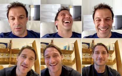 """Totti: """"Mio figlio alla Lazio? Mica sono scemo"""""""