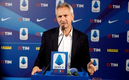 Serie A, ipotesi ripresa con recuperi 25^ giornata