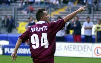 ***** Collection Juventus *****©LERCARA/LAPRESSE14/10/2001 TORINOSPORTJUVENTUS - TORINOESULTANZA DI FERRANTE