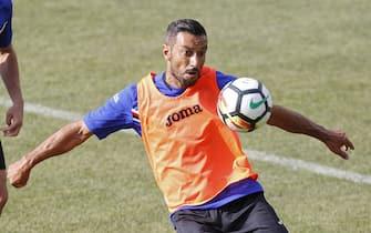 UC Sampdoria ritiro estivo, allenamento pomeridiano