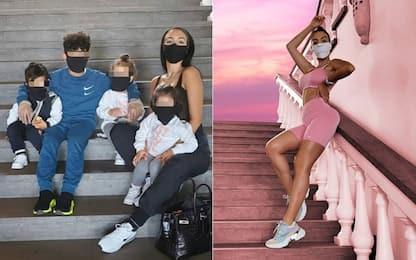 Lady Ronaldo cuore d'oro: dona 20mila mascherine