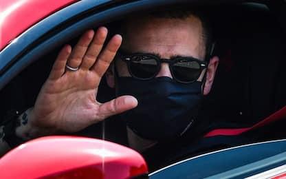 """Juve, via ad allenamenti. Bonucci: """"Ecco Zorro!"""""""