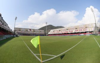 SALERNO, ITALY - AUGUST 24: General view of the Stadio Arechi before the Serie B match between Salernitana and Pescara Calcio at Stadio Arechi on August 24, 2019 in Salerno, Italy. (Photo by Francesco Pecoraro/Getty Images)