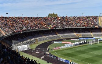 LECCE, ITALY - MAY 11:  General view of Stadio Via del Mare prior the Serie B match between US Lecce and AC Spezia at Stadio Via del Mare on May 11, 2019 in Lecce, Italy.  (Photo by Giuseppe Bellini/Getty Images for Lega B)