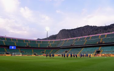 PALERMO, ITALY - SEPTEMBER 05:  A general view during a training session at Renzo Barbera Stadium on September 5, 2015 in Palermo, Italy.  (Photo by Claudio Villa/Getty Images)