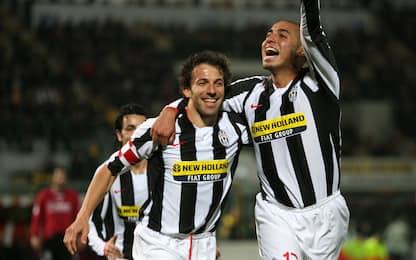 Bomber 07-08, Del Piero-Trezeguet coppia da 41 gol