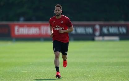 """Calhanoglu: """"Io trequartista, sto bene al Milan"""""""