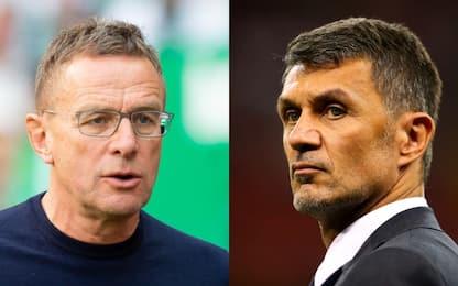 Rangnick sarà allenatore-Dt del Milan: e Maldini?
