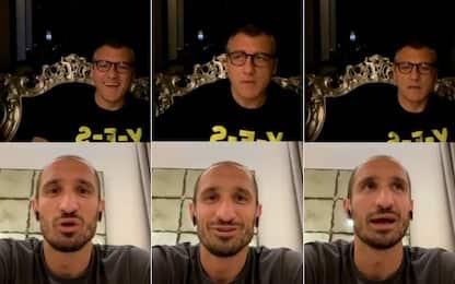 """Chiellini a Vieri: """"Ko con l'Ajax, che rammarico"""""""