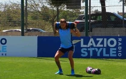 Lazio, si ferma Milinkovic: esami nel pomeriggio
