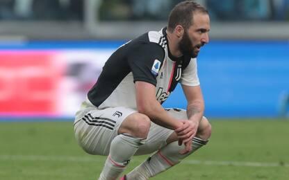 Juventus, Higuain si ferma in allenamento