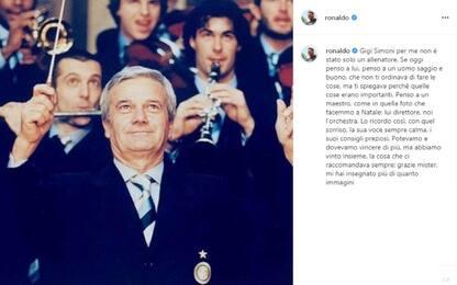 """Ronaldo: """"Simoni direttore della nostra orchestra"""""""