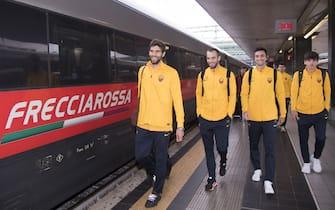 AS Roma, il viaggio per Reggio Emilia