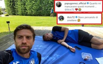 Gomez-Ilicic, simpatico siparietto su Instagram