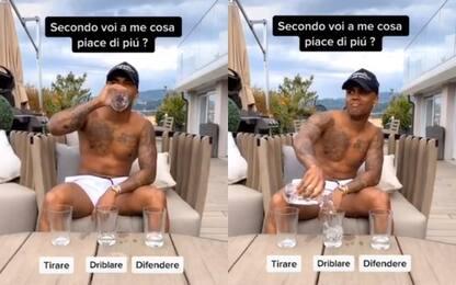 Douglas Costa ama dribblare: un video lo dimostra