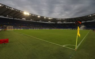 ROME, ITALY - OCTOBER 24:  A general view of the Stadio Olimpico before the UEFA Europa League group J match between AS Roma and Borussia Moenchengladbach at Stadio Olimpico on October 24, 2019 in Rome, Italy.  (Photo by Paolo Bruno/Getty Images)