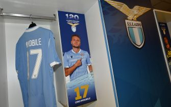 ROME, ITALY - SEPTEMBER 01:  A general of the SS Lazio dressing room ahead the Serie A match between SS Lazio and AS Roma at Stadio Olimpico on September 1, 2019 in Rome, Italy.  (Photo by Marco Rosi/Getty Images)