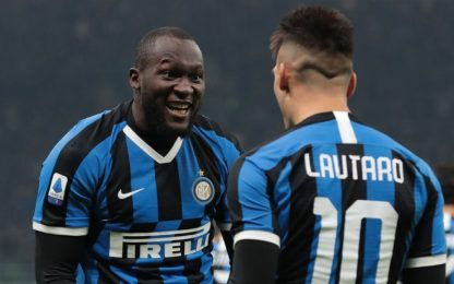Inter, la rimonta passa dai gol di Lukaku-Lautaro