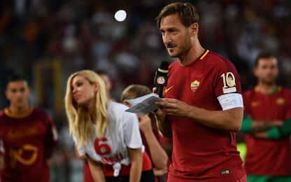 Tre anni fa l'addio al calcio di Totti. VIDEO