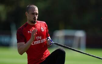 Serie A, terzo giorno di allenamenti individuali per i rossoneri a Milanello