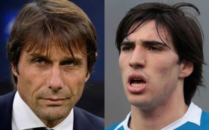 Conte prova l'Inter, Marotta-Ausilio su Tonali
