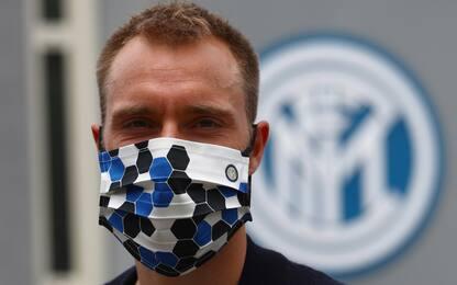 Eriksen è a Milano: attesa per le visite mediche