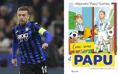 """""""Ciao, sono il Papu"""": Gomez diventa un fumetto"""