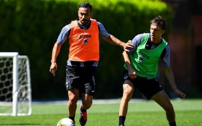 Quagliarella non recupera: salta sfida all'Inter