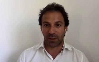 """Del Piero: """"Conte rinfaccerà ko Napoli per 1 anno"""""""
