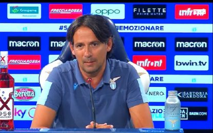 """Inzaghi: """"Cataldi non è pronto, torna Correa"""""""