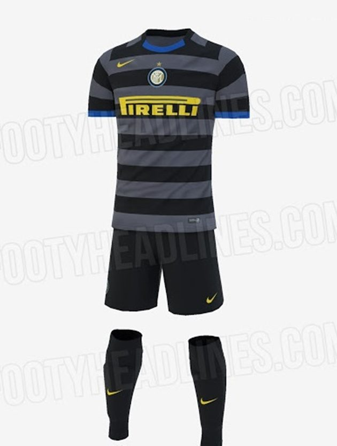 Inter, la terza maglia 2020-2021: le indiscrezioni di Footy ...