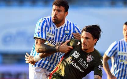 Cagliari, Pisacane out: 2 costole fratturate
