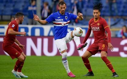 Roma-Sampdoria, dove vedere la partita in tv