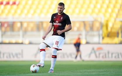 Milan-Roma, le certezze: Rebic sfida Dzeko