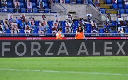 """All'Olimpico un omaggio per Zanardi: """"Forza Alex"""""""