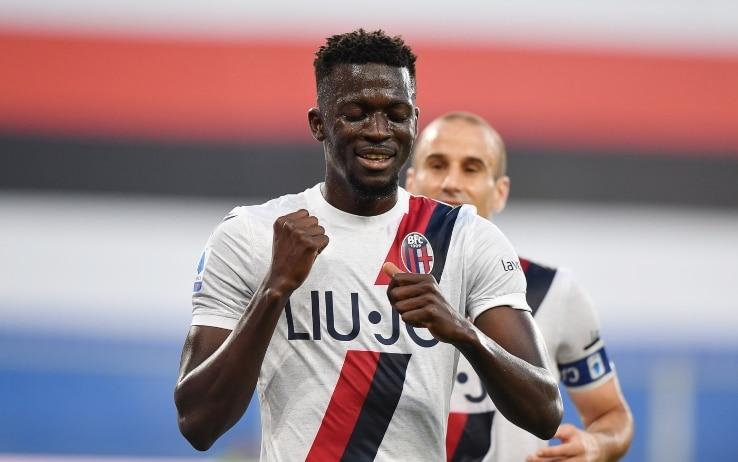 Barrow, gol in Samp-Bologna dedicato alla nonna morta venerdì | Sky Sport