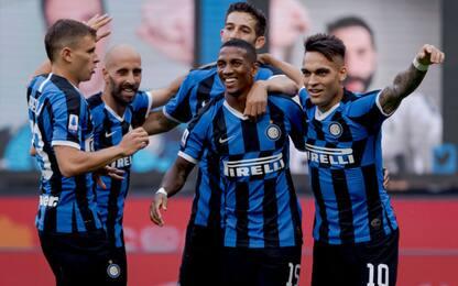 L'Inter è travolgente, Brescia demolito 6-0