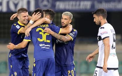 Verona da Europa, Parma ko 3-2. Colpo Samp a Lecce