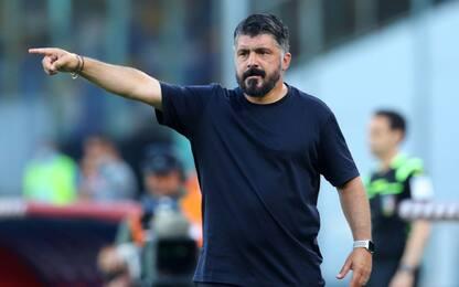 """Gattuso: """"Gara buttata, niente cali di tensione"""""""