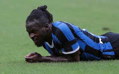 Inter, affaticamento per Moses: salta il Bologna
