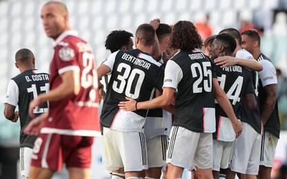 Ancora Dybala-Ronaldo: 4-1 al Toro, Lazio a -7