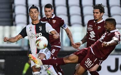 Juve-Torino 2-0 LIVE: raddoppio di Cuadrado