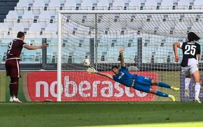 Juve-Torino 2-1 LIVE: accorcia Belotti su rigore