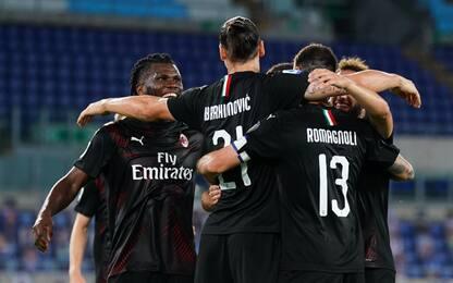 Colpo Milan, 3-0 alla Lazio: ora la Juve è a +7