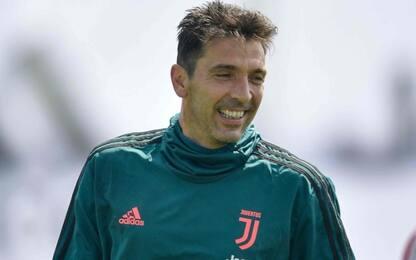 Buffon gioca il derby, emergenza Lazio: probabili