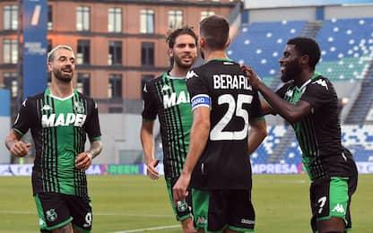 Sassuolo, poker per il sogno Europa: Lecce ko 4-2