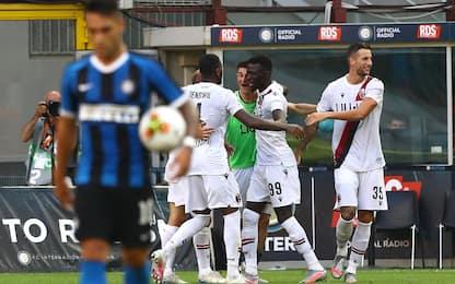Juwara-Barrow, Inter rimontata: 2-1 del Bologna